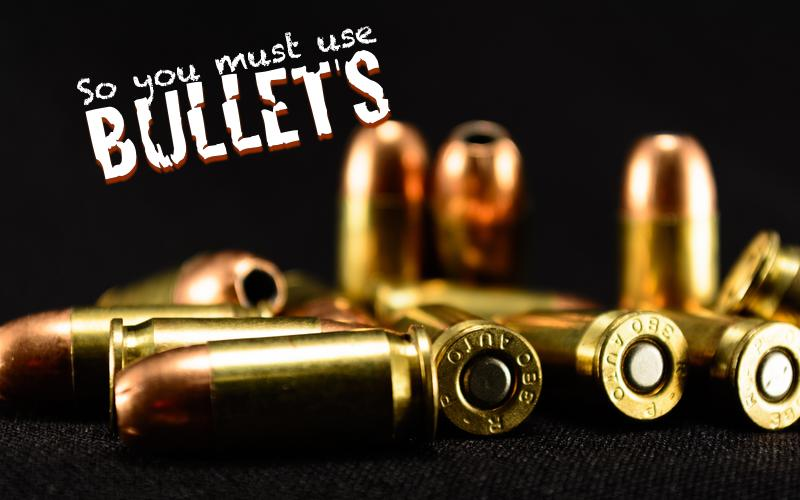 So You Must Use Bullet Points