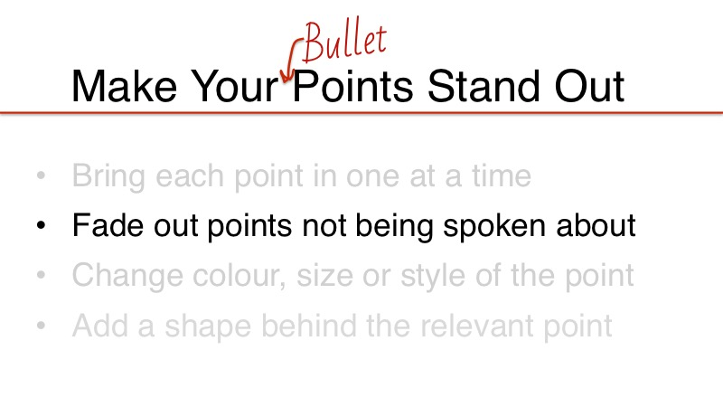 fade_out_non_relevant_points_presentation_powerpoint_slide_design