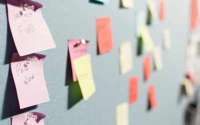 Storyboard Your Presentation with Sticky Notes